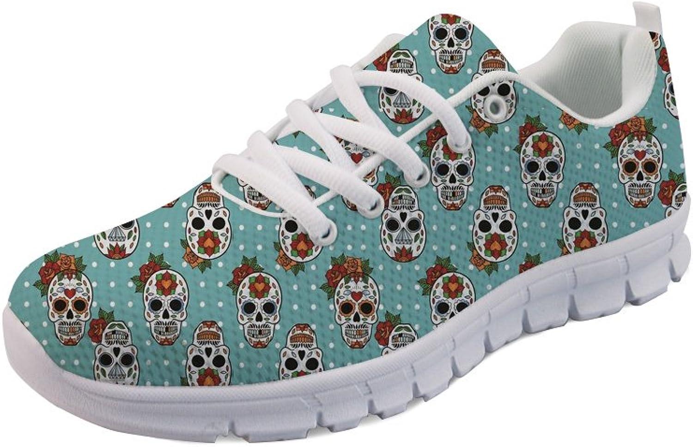 Showudesigns Running Sport shoes Women Outdoor Walking Sneaker Fashion Animal