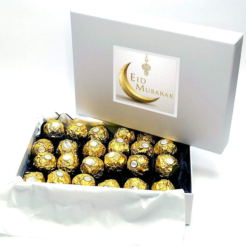 Eid Mubarak Ferrero Rocher Chocolate Luxury Gift Box Buy Online In Bosnia And Herzegovina At Bosnia Desertcart Com Productid 202230218