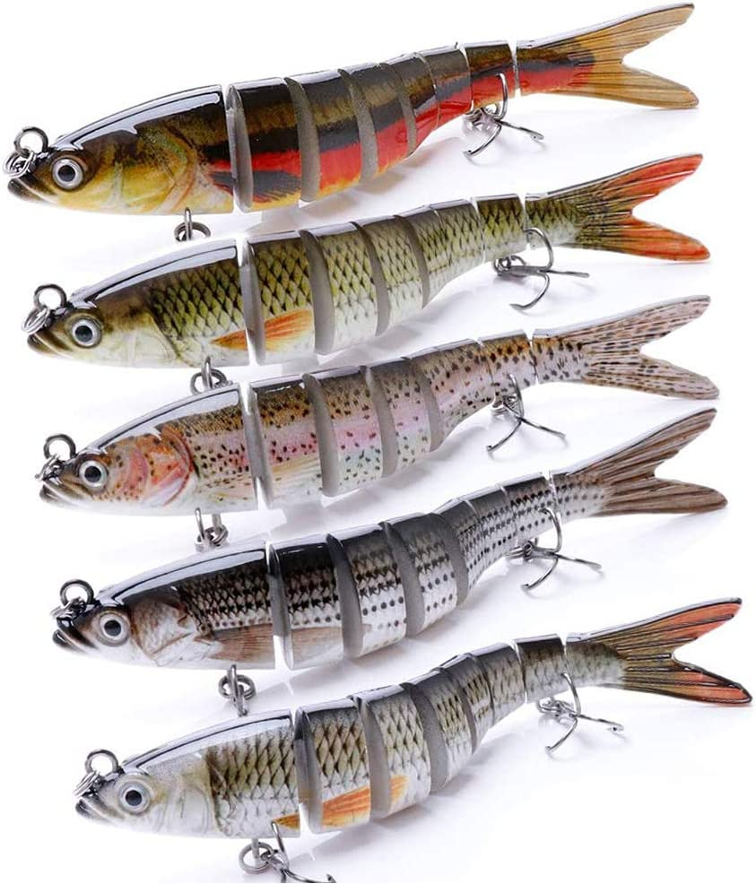 Fishing Branded goods Lures Full-Size Multi Jointed Now on sale Slow Har Sinking Swimbait