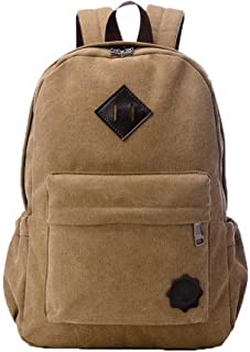 Women's Tote Bags Shopping Casual Zippers Canvas Shoulder Bags,FBUBC205442,Khaki