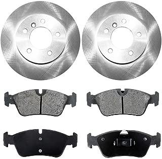 Prime Choice Auto Parts CBO44175781C Set of 2 Premium Rotors /& 4 Ceramic Pads
