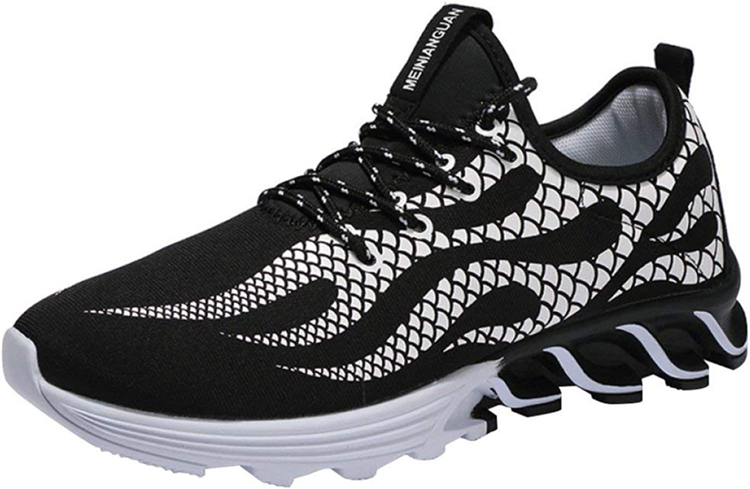 official photos eed1c 282fa Sommer Herrenschuhe Trend Laufschuhe Sportschuhe Sportschuhe Sportschuhe  Mesh Schuhe Herren Messer Schuhe, Herren Sportschuhe (Farbe 388schwarz, ...