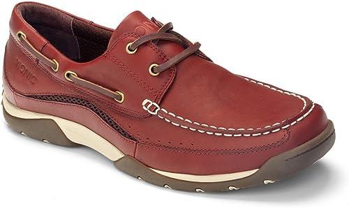 Vionic – Eddy zapatos náuticos ortopédicos de piel