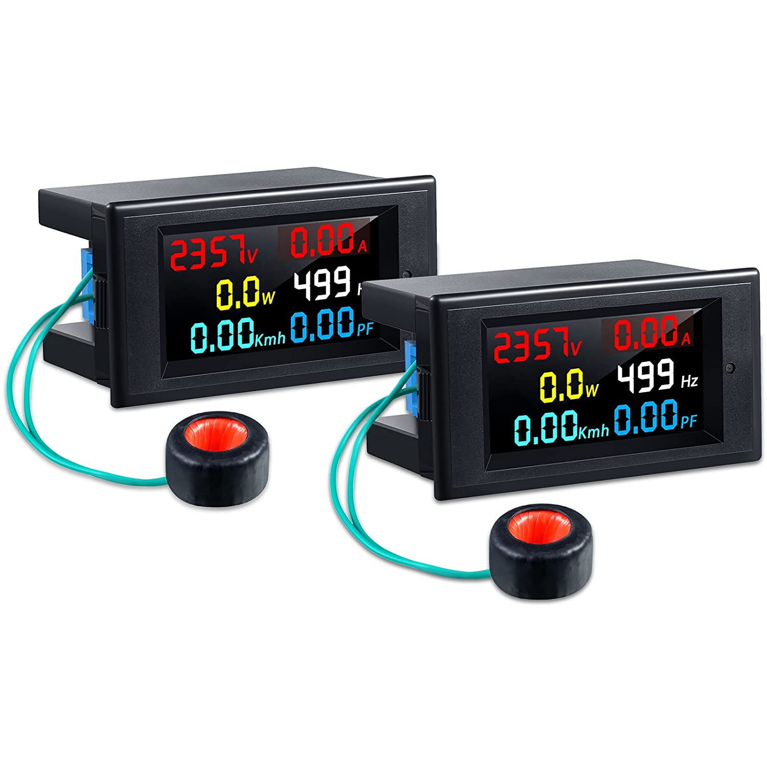 Limited Special Price 2 Pieces AC Display Meter 100A Voltm Digital Directly managed store 80-300V Multimeter