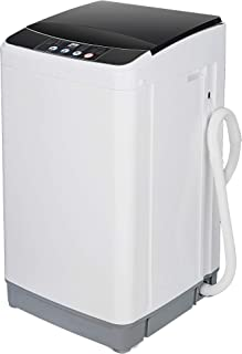 ZenStyle Laundry Washer/Spinner Fully Automatic 8 LB Top Load Mini Washing Machine w/Drain Pipe, 5.74 FT Power Cord, 6.57 ...