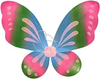 ZS ZHISHANG W kształcie anioła lub motyla wróżki kolorowe skrzydła cosplay kostium maluch przebranie maskarada karnawał im...