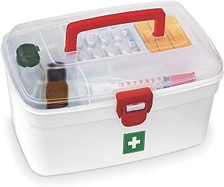 Milton Medical Box, 1 Piece | Emergency Medical Box |Portal Box | Medicine Storage Box | BPA Free | Emergency Cabinet Orga...