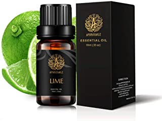 Lime Essential Oil for Diffuser, Therapeutic Grade Lime Scented Oil, 100% Pure Aromatherapy Essential Oil Lime Fragrance f...