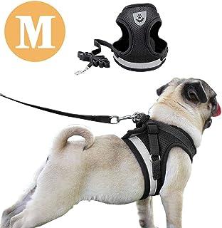 BbearT/® Harnais r/églable pour chien//chiot en tissu filet doux respirant et souple