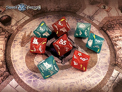 Sword and Sorcery: Dice Pack - English