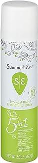 Summer's Eve FeminineTropical Rain Deodorant Spray for Women, 50 gm
