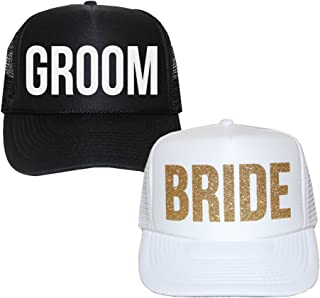 Best bride and groom trucker hats Reviews