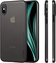 memumi Funda Compatible con iPhone X, Funda para iPhone 10, Ultra Slim Anti-Rasguño y Resistente Huellas Dactilares Totalmente Protectora Caso de Plástico Duro Cover Case [Slim Series]