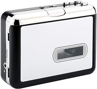 PowerLeadテーププレーヤー MP3へのテープレ トロウォークマン ポータブルオーディオテーププレーヤーとヘッドフォン PC不要