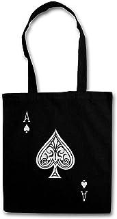 Urban Backwoods Ace of Spades II Bolsas de la Compra Reutilizables - Culo Spade Ace Poker As Card Casino Las Karte Royal Flush Pik Cards 23 Vegas