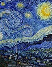 """Sketchbook: Starry Night: Vincent Van Gogh Journal 8.5"""" X 11"""" Personalized Artist Sketchbook 109 Blank Pages For Sketching Drawing and Creative Doodling, Blank Paper For Drawing Sketchbook (Handbook)"""