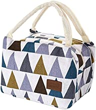 Lunch Bag T/érmica Porta Aislamiento Impermeable Bolso para Mujeres Hombres para Picnic Escuela Oficina 1 Pieza Impresi/ón de Cactus Oyfel Bolsa Almuerzo con Cremallera Universal Simple