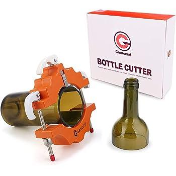 Cr Edelstahl Flaschenschneider Dekoration Art Craft Glasflaschenschneider DIY Hand Weinschneidewerkzeug Bequeme und einfache Bedienung Glasflaschenschneider