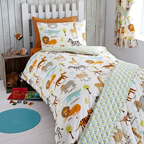 Harwood Textiles My Safari Junior/Toddler Duvet Pillowcase (SAF005)