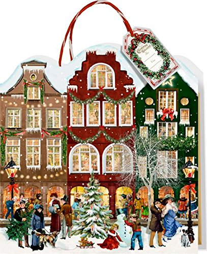 Adventskalender-Tasche - Weihnachtsstraße