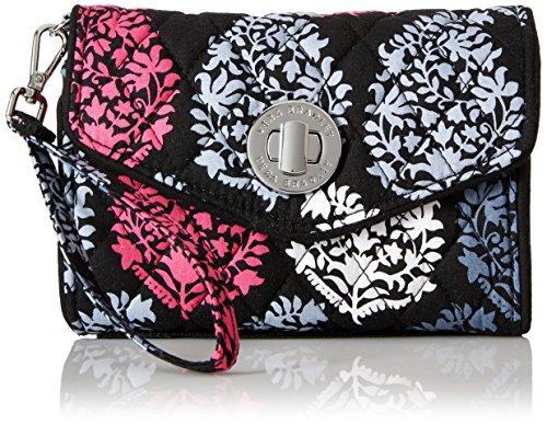 Vera Bradley Your Turn Smartphone Wristlet Wallet, Impressionista, One Size