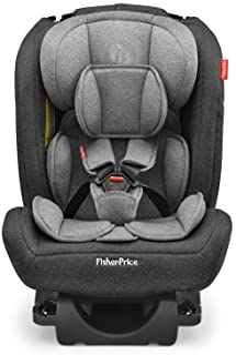 Cadeira Para Auto All-Stages Fix 2.0 Cinza e Preto - BB607, Fisher Price, Preto e Cinza