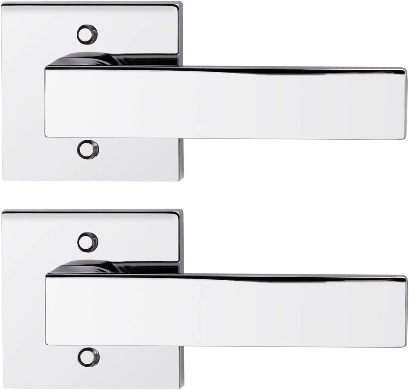 Special Campaign Gobrico Square Rosette Door Sale SALE% OFF Levers Handles in Pol Dummy Function