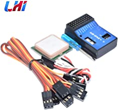 LHI NB ONE+ Flight Controller Built-in 6-Axis Gyro with Altitude Hold Pattern GPS Module for FPV RC Fixed Wing Upgrade 32 Bit Novice Assisted
