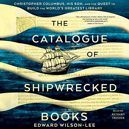 The Catalogue of Shipwrecked Books audiobook cover art