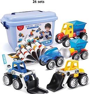 子供の磁石のおもちゃ、学習と教育玩具の建設は男の子と女の子のための早期教育パズル磁気ピースビルディングブロックを設定