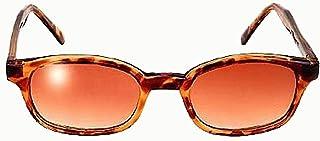 KD's Unisex-Adult Biker sunglasses Brown One Size