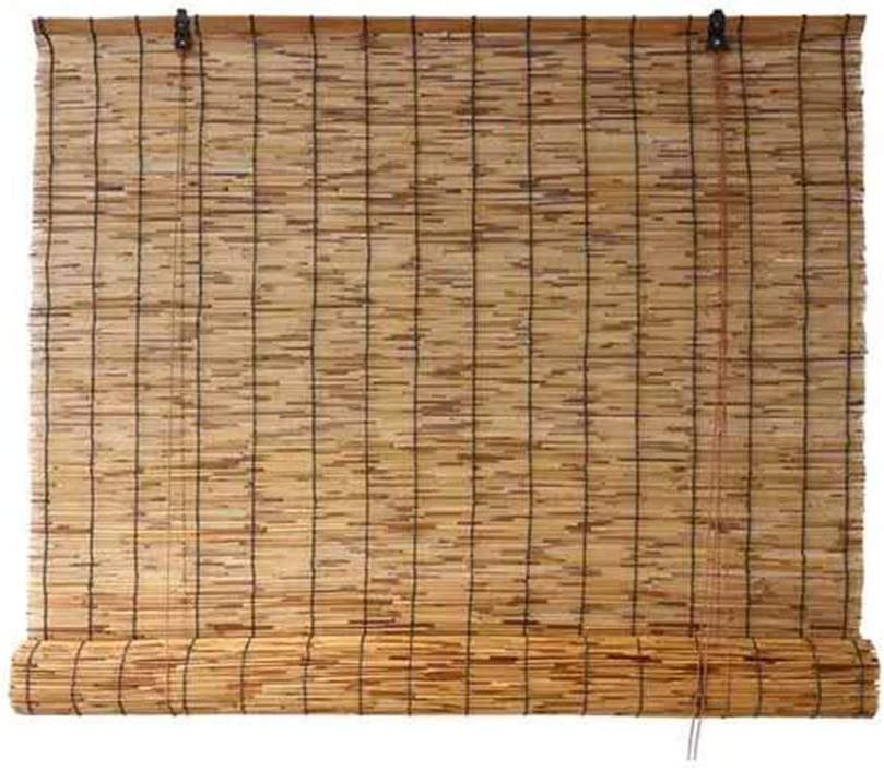 Bamboo roll up Window San Diego Mall Blind Sun Shade of Made Reed Light Large-scale sale Filter