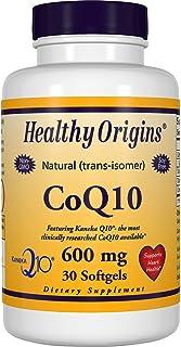 Healthy Orgins Kaneka COQ10 Gels, 600 mg, 30 Count