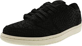 Nike Women's Air Jordan 1 Retro Low Ns Nrg Black / - Sail Ankle-High Leather Fashion Sneaker 6.5M