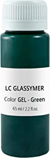 Lucy Clay Liquid Polymer Clay LC Glassymer High Pigmented Color Green for Free DIY Non-Toxic Bakeable Liquid Clay for Oven-Bake Clay for All Artists and Different Projects