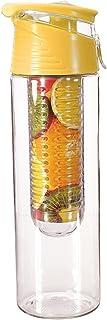ELEGIANT® Vattenflaska 800 ml sport plast fruktägg utomhusresa BPA-fri för camping sport home office skola