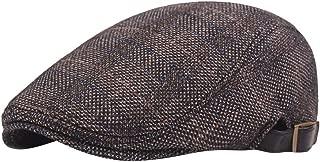 Mens Peak Blinder Hat Baker Boy Hat Cap Peak Newsboy Herringbone Flat Cap