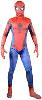2017 Justice Spider Man Suit Boys Cosplay Halloween Costume Kids