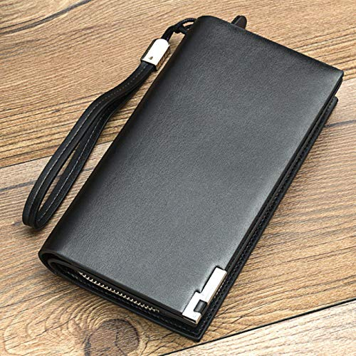 DUKAILIN Wallet Wallet Business Clutch Coin Pocket Zipper Purse 3 Fold Phone Purses Casual Portfolio Multi Card Bit Wallet