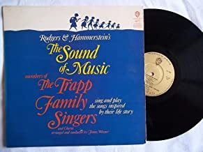 TRAPP FAMILY SINGERS The Sound of Music vinyl LP