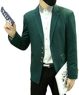 Blazer Mens Mens Blend Velvet Trim Collar Casual Comfortable Sizes Suit Jackets Formal Business Coat Stylish Clothing