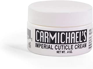 Carmichael's Imperial Cuticle Cream – Fingernail and Toe Nail Strengthener and Moisturizer Treatment - Prevents Splitting, Peeling, Cracking and Brittle Finger and Toe Nails - 0.4 Ounces