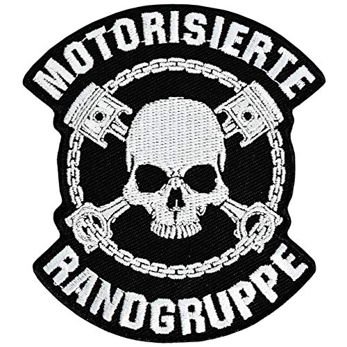 Aufnäher Aufbügler Patch Motorrad Motorisierte Randgruppe