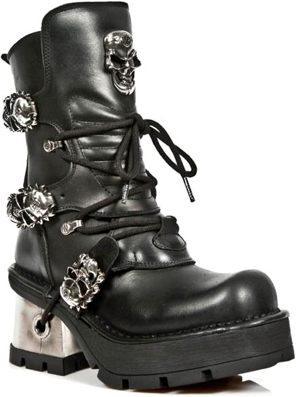 New Rock Newrock NR M.1044 S1 Black Boots - Womens
