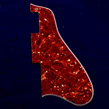 4Ply Jazz Archtop Guitar Pickguard Fits ES335 Long Version ,red tortoise