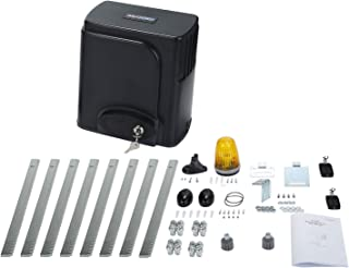 G.T.Master Automatic Rack Sliding Gate Opener Kit- Gear Track Driveway Security Door Operator Hardware with Remotes and Sensor for Slide Gate up to 1300lbs and 27ft (SL1300)