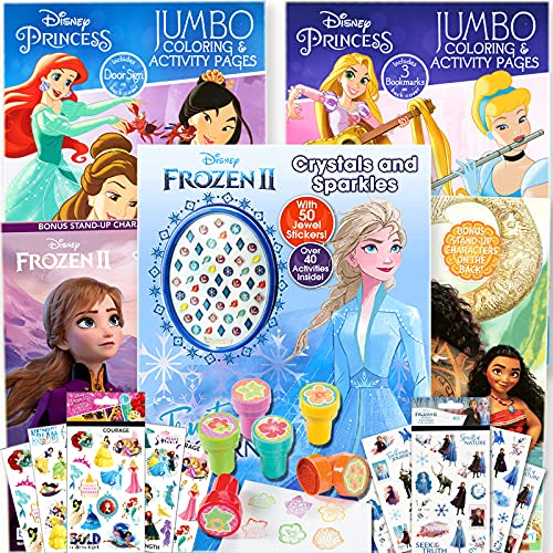 Disney Princess Coloring Book Super…