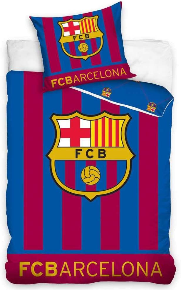 FC Barcelona Glow in The 1 year warranty Wholesale Set Cover Single Dark Duvet
