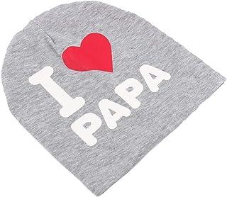 Zerone Child Cap, Unisex Cotton Beanie Hat for Children Boy Girl Soft Cap Kids Warm Winter Grey