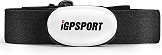 IGPSPORT Heart Rate Monitor Sensor for Fitness Tracker Bluetooth & ANT+ (Soft Chest Strap)